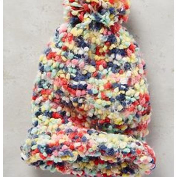 5a22fde4b Anthropologie first snow hat ❄️❄️❄️